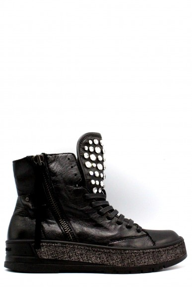 Crime Sneakers F.gomma 36-40 Donna Nero Fashion