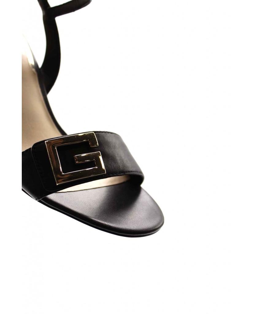 Guess Sandali F.gomma Mack/sandalo (sandal)/leather Donna Nero Fashion