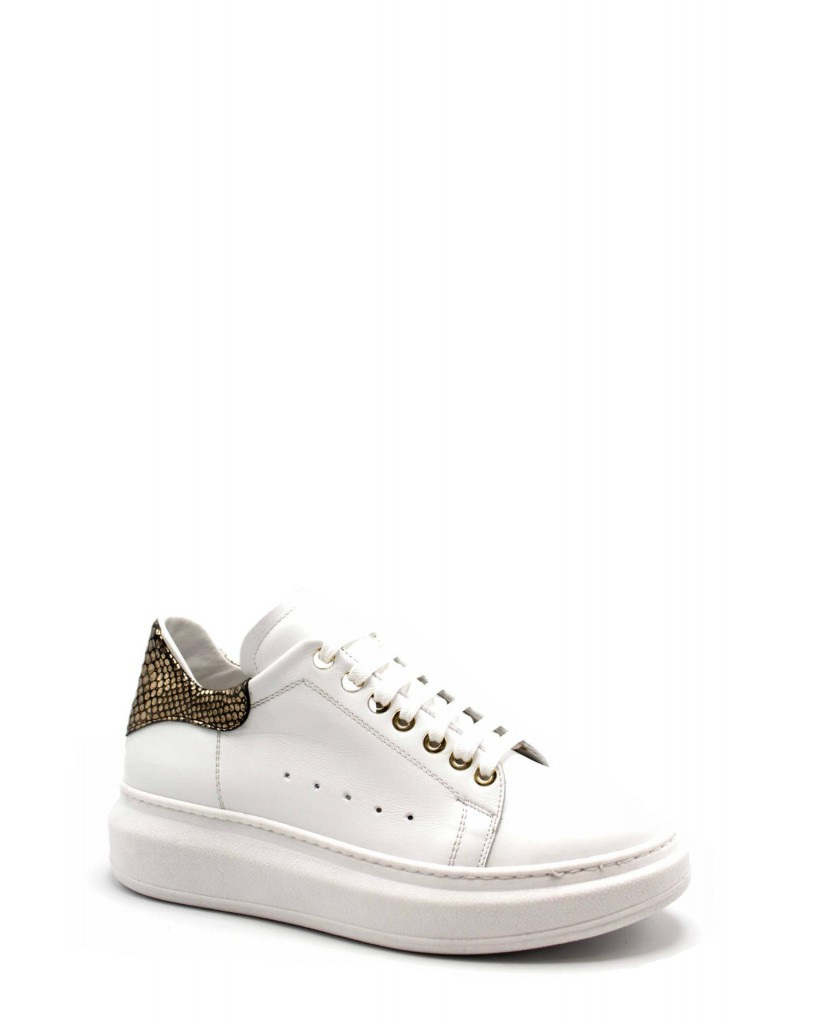 Brando Sneakers F.gomma Made in italy brd3 Donna Bianco Fashion