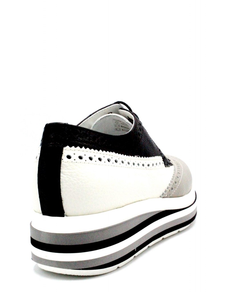 Mally Duilio 36-40 linea raineow made in italy Donna Bianco Fashion
