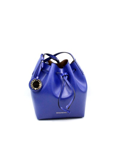Emporio armani Borse - Bucket bag fancy purp y3e080 yh15a Donna Bluette/cuoio Fashion