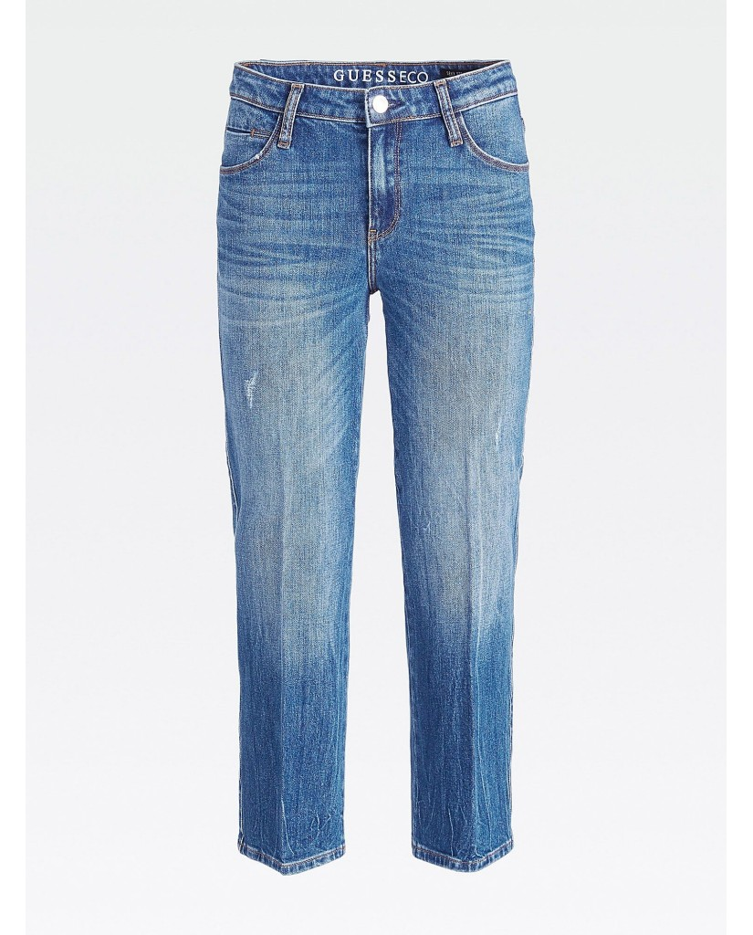 Guess Jeans   Sexy straight ankle Donna Blu Fashion