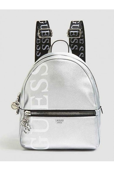 Guess Backpacks - Urban chic large backpack Donna Silver Fashion