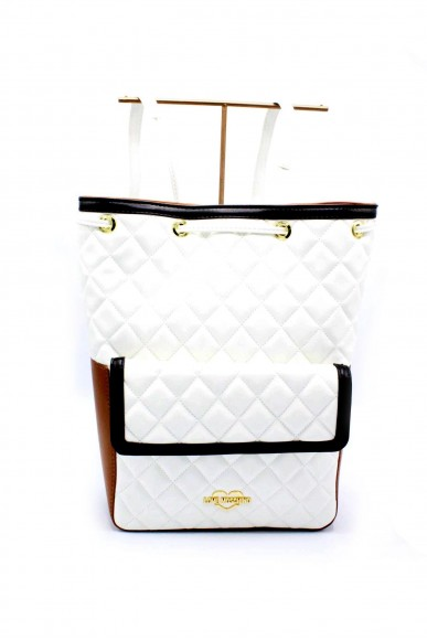 Moschino Backpacks - Jc4202pp05 zainetto in ecopelle Donna Bianco-cedro Fashion