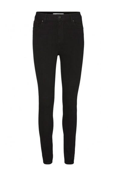 Vero moda Jeans Donna Nero Casual