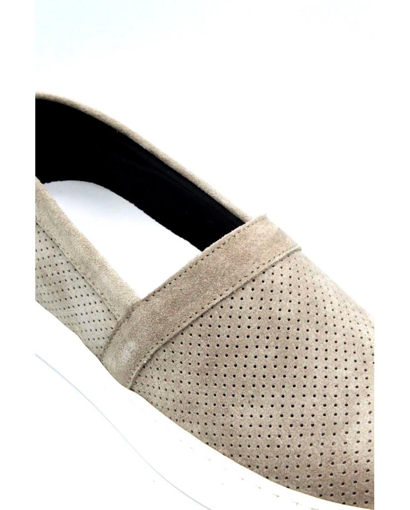 Bottega marchigiana Slip-on F.gomma 40/45 sbm14 made in italy Uomo Beige Fashion