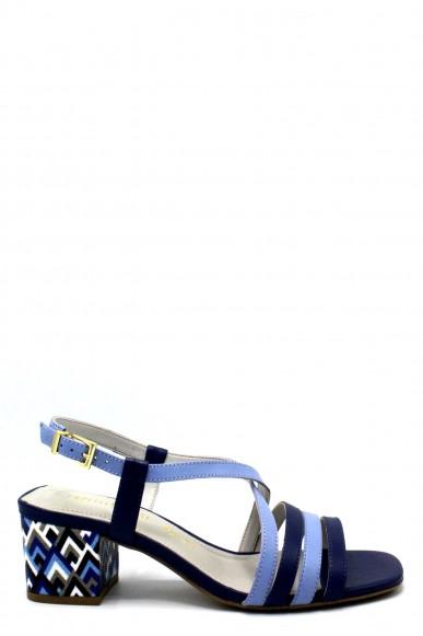 Capelli rossi Sandali 7871 Donna Blu Fashion