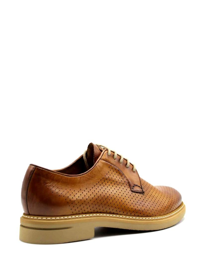Brecos Stringate F.gomma 40-45 Uomo Cuoio Fashion