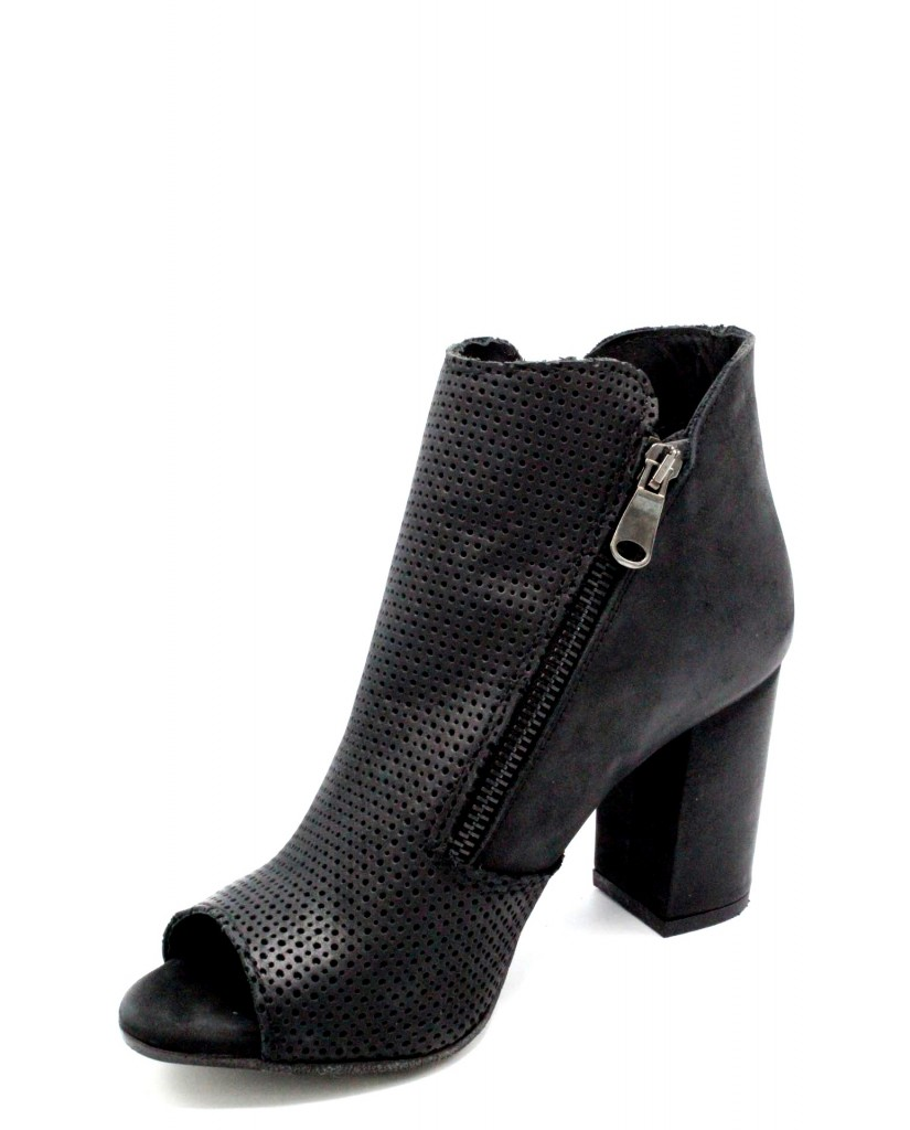 Euroshoes Tronchetti F.gomma 35-41 made in italy 1659 ss18 Donna Nero Casual