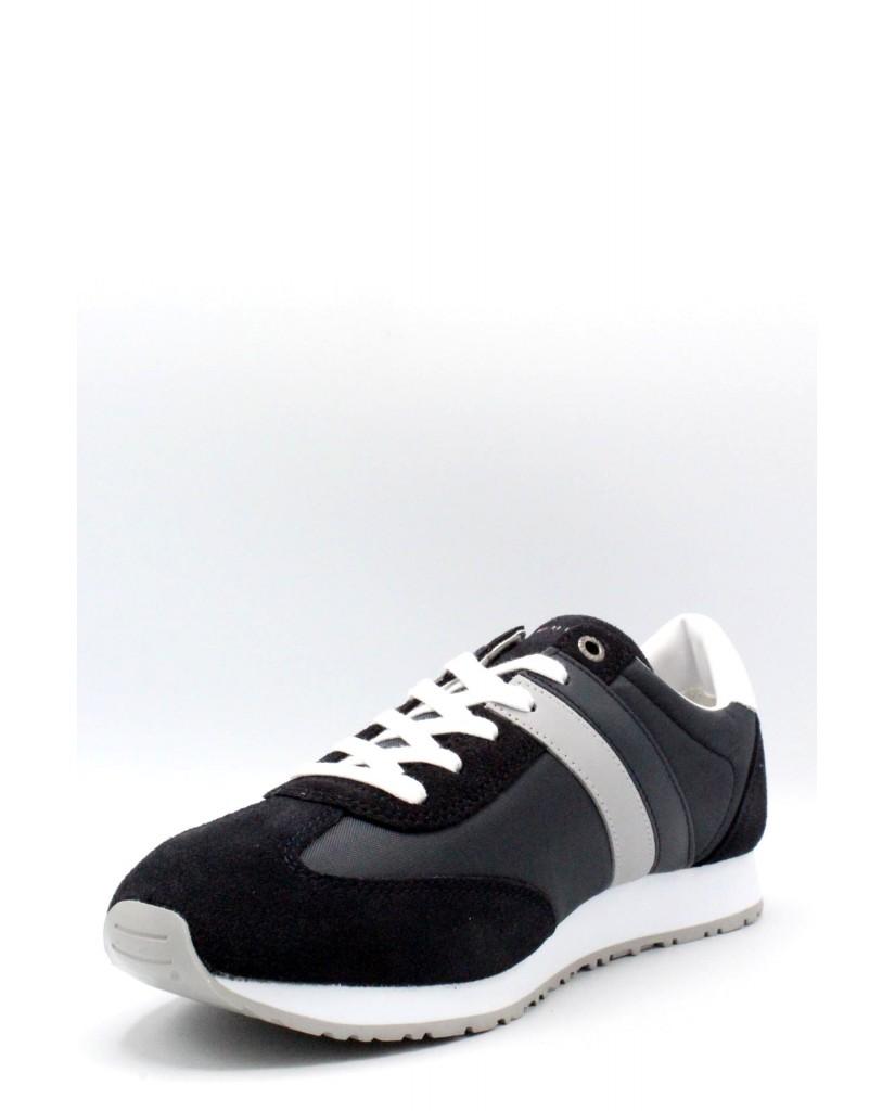 Tommy hilfiger Sneakers F.gomma 40/45 maxwell suede Uomo Blu Fashion