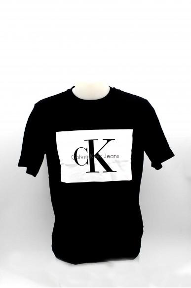 Calvin klein T-shirt T-shirt calvin klein uomo Uomo Nero Casual