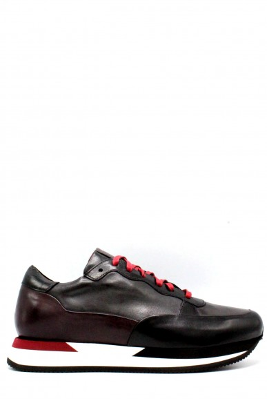 Brecos Sneakers F.gomma 40-45 made in italy Uomo Nero Fashion