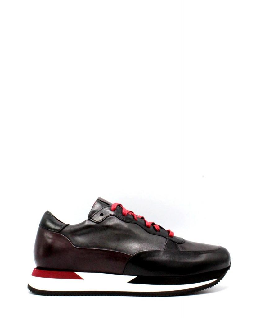 Brecos Sneakers F.gomma 40-45 made in italy Uomo Nero Fashion