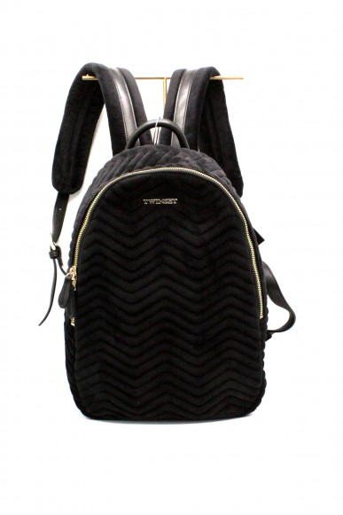 Twin set Backpacks - Zaino Donna Nero Fashion