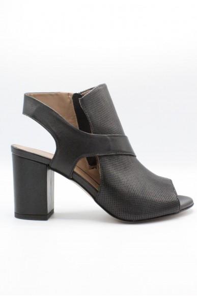 Mally Sandali F.gomma 36/40 Donna Nero Fashion