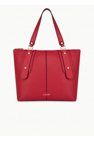 Liu.jo Borse Ecopelle Shopping bag Donna Rosso Fashion