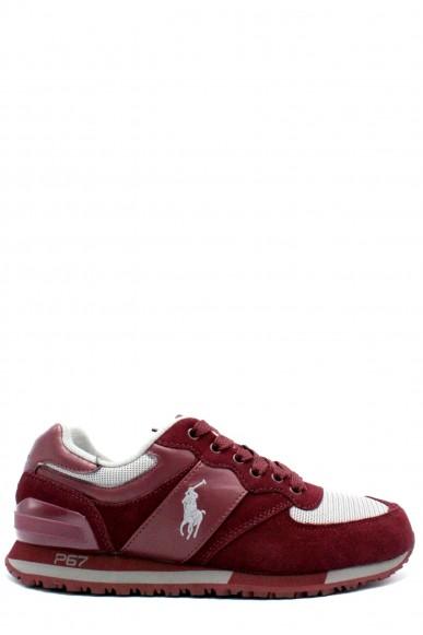 Ralph lauren Sneakers F.gomma 40-45 Uomo Bordo Sportivo
