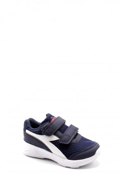 Diadora Sneakers F.gomma Eagle 3 jr Bambino Blu-bianco Sportivo