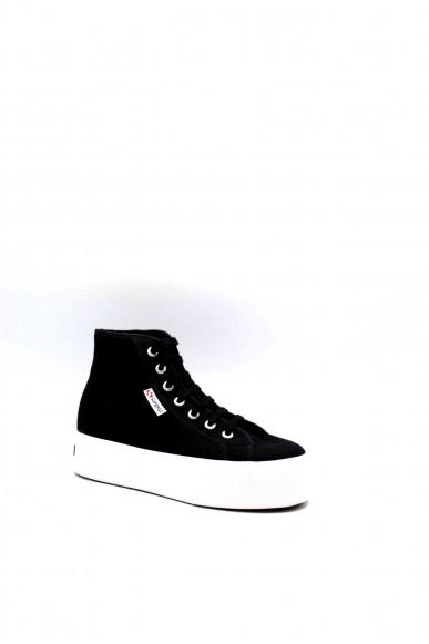 Superga Sneakers F.gomma 36/41 s3111mw Donna Nero-bianco Sportivo