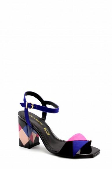 Capelli rossi Sandali F.gomma 9396-407-498 Donna Azzurro Fashion