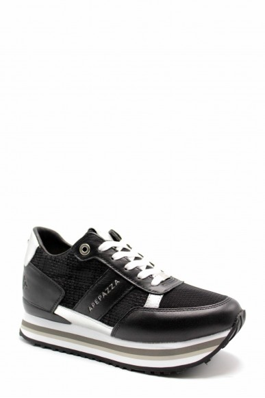Ape pazza Sneakers F.gomma Raissa Donna Nero Fashion