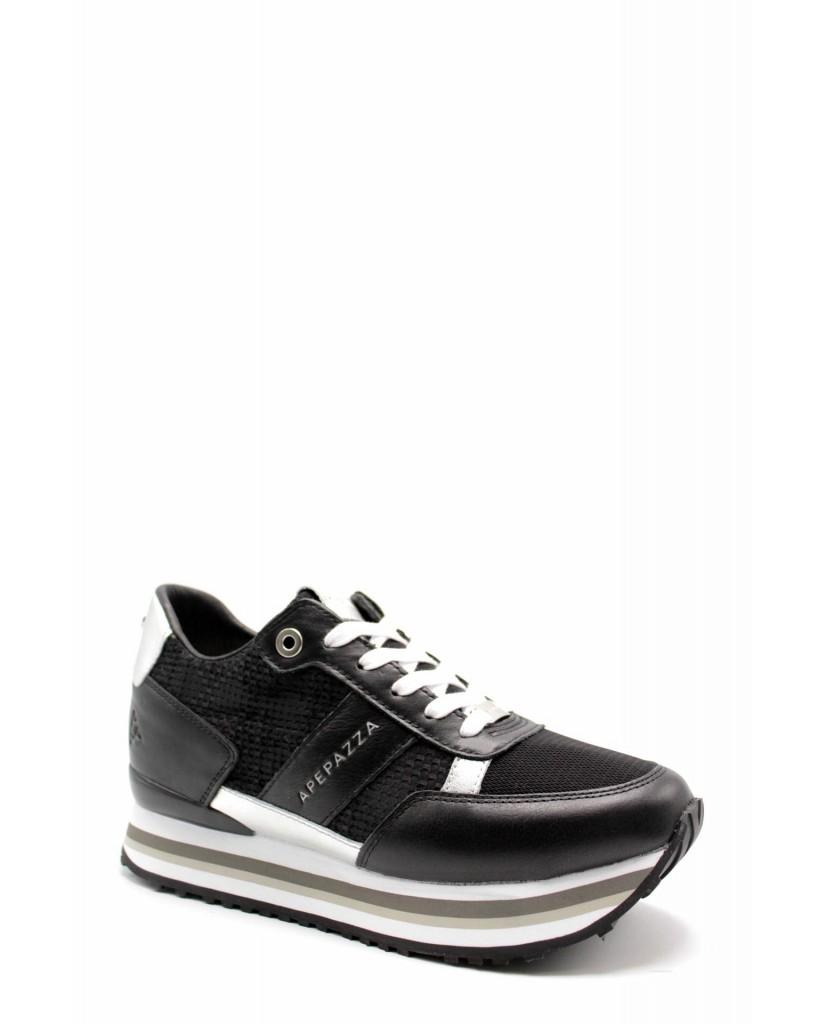 Ape pazza Sneakers F.gomma Raissa Donna Nero Fashion