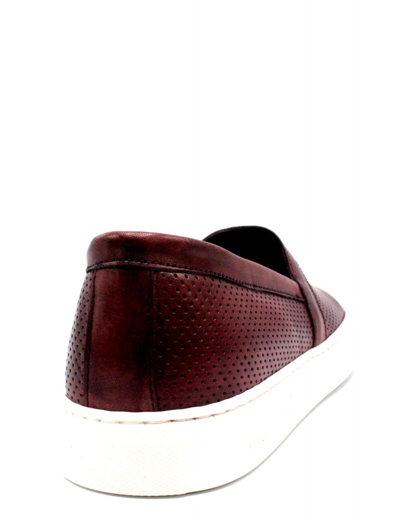 Bottega marchigiana Slip-on F.gomma 40/45 sbm14 made in italy Uomo Bordeaux Fashion
