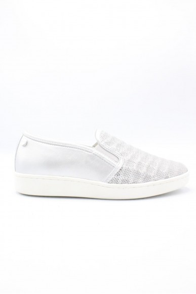 Key's Slip-on F.gomma 35/41 Donna Argento Fashion