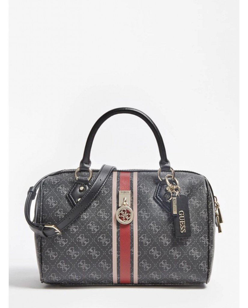 Guess Borse   Jensen box satchel Donna Nero Fashion