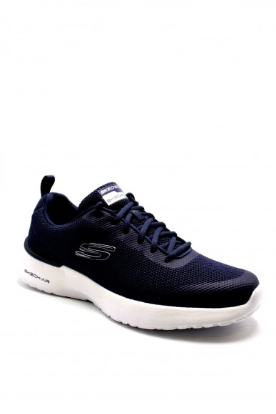 Skechers Sneakers F.gomma 40-45 232007 Uomo Blu Casual