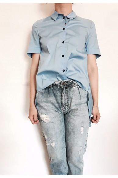 Berna Camicie Xs-s Donna Celeste Fashion