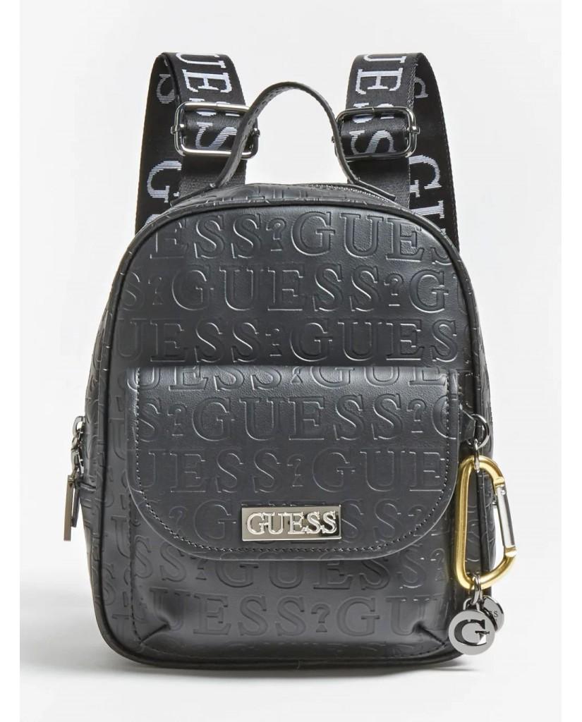Guess Backpacks   Lane backpack Donna Nero Fashion