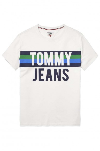 Tommy hilfiger Maglie Uomo Bianco Casual