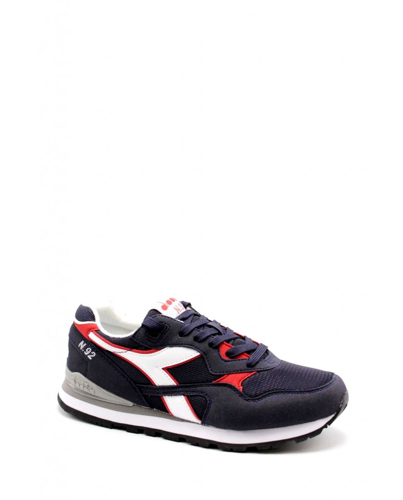 Diadora Sneakers F.gomma N92 Uomo Blu-bianco Sportivo