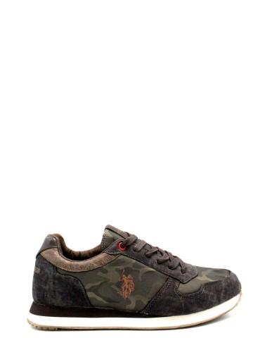 Us polo Sneakers F.gomma 40-45 rexon Uomo Testa di moro Casual