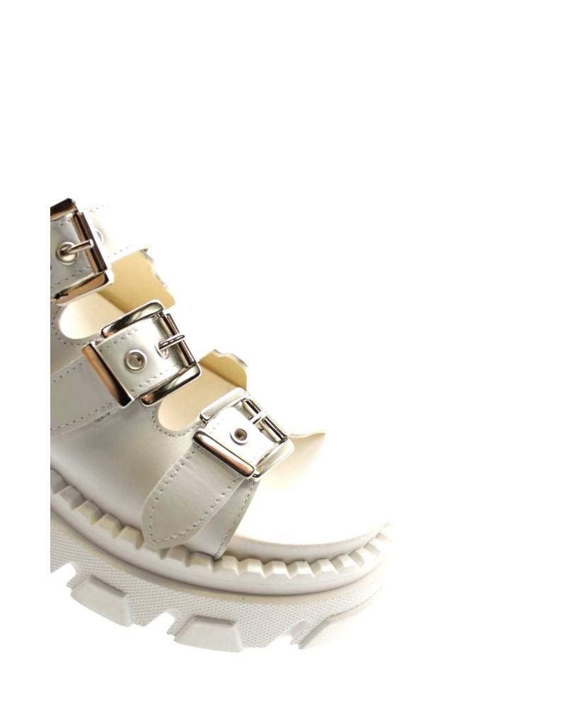 Hilya Sandali F.gomma 36/40 Donna Bianco Fashion