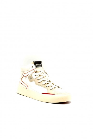 Guess Sneakers F.gomma Lodi mid Uomo Bianco Fashion