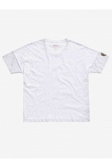 Blauer T-shirt   T-shirt manica corta Donna Bianco Fashion