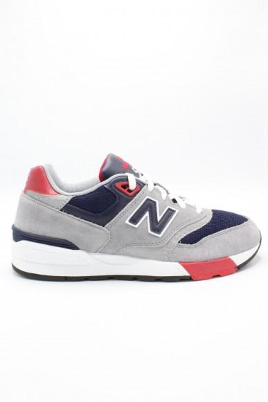 New balance Sneakers F.gomma 597 Uomo Grigio-blu Sportivo
