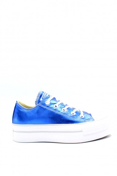 Converse Sneakers F.gomma 35/41 chuck taylors platform ox Donna Royal Sportivo