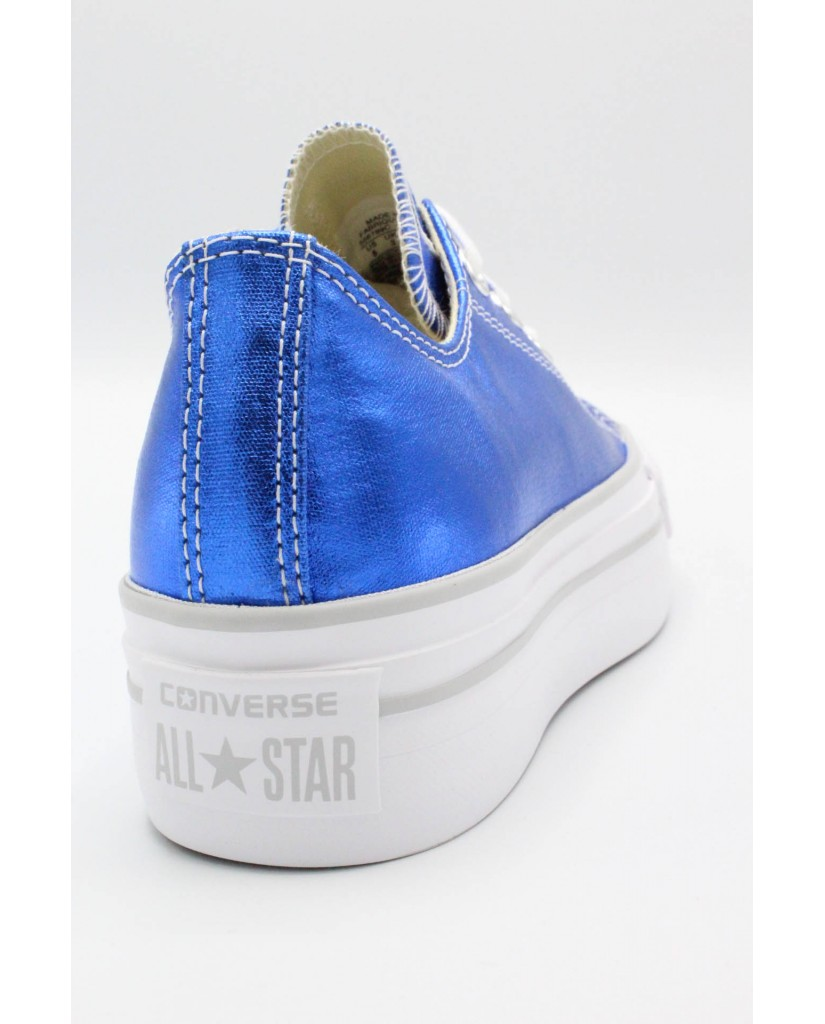 Converse Sneakers F.gomma 35/41 chuck taylors platform ox Donna Royal Sportivo