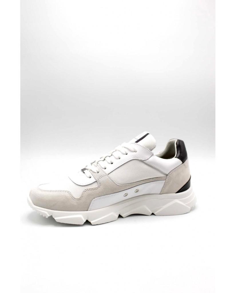 Ambitious Sneakers F.gomma 40/45 10486 Uomo Bianco-nero Fashion