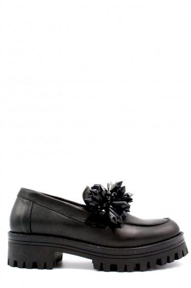 Mv Mocassini F.gomma 36-41 Donna Nero Fashion
