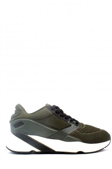 Calvin klein Sneakers F.gomma 40-45 Uomo Verde Casual
