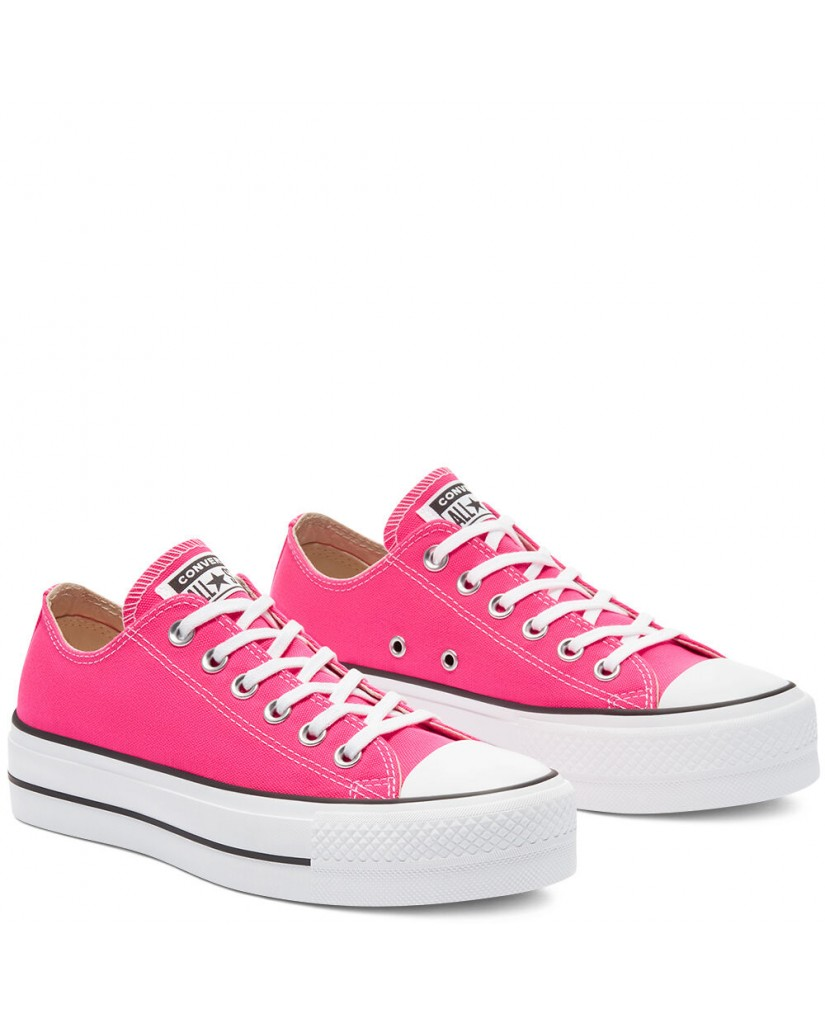 Converse Sneakers F.gomma Ctas lift ox hyper Donna Fucsia Fashion