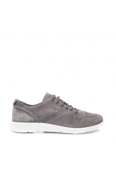 Geox Sneakers F.gomma Brattley Uomo Anthracite Casual