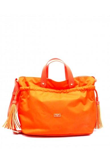 Patrizia pepe Borse Lucia Borsa a mano con tracolla Donna Orange Fashion