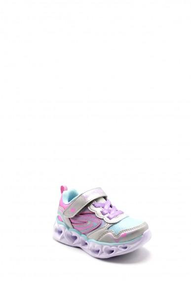 Skechers Sneakers F.gomma 22-26 20294n Bambino Bianco Casual