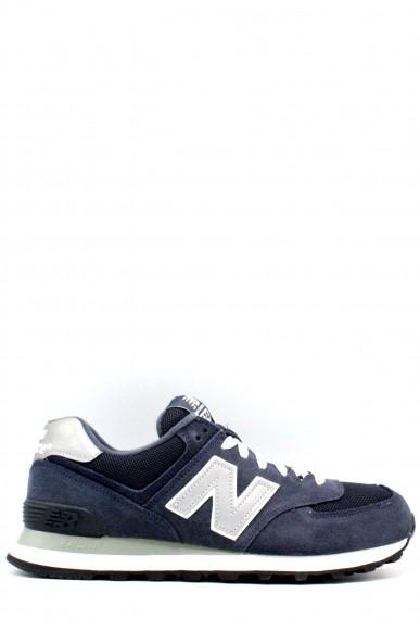 New balance Sneakers F.gomma 39-46 574 Uomo Blu Sportivo