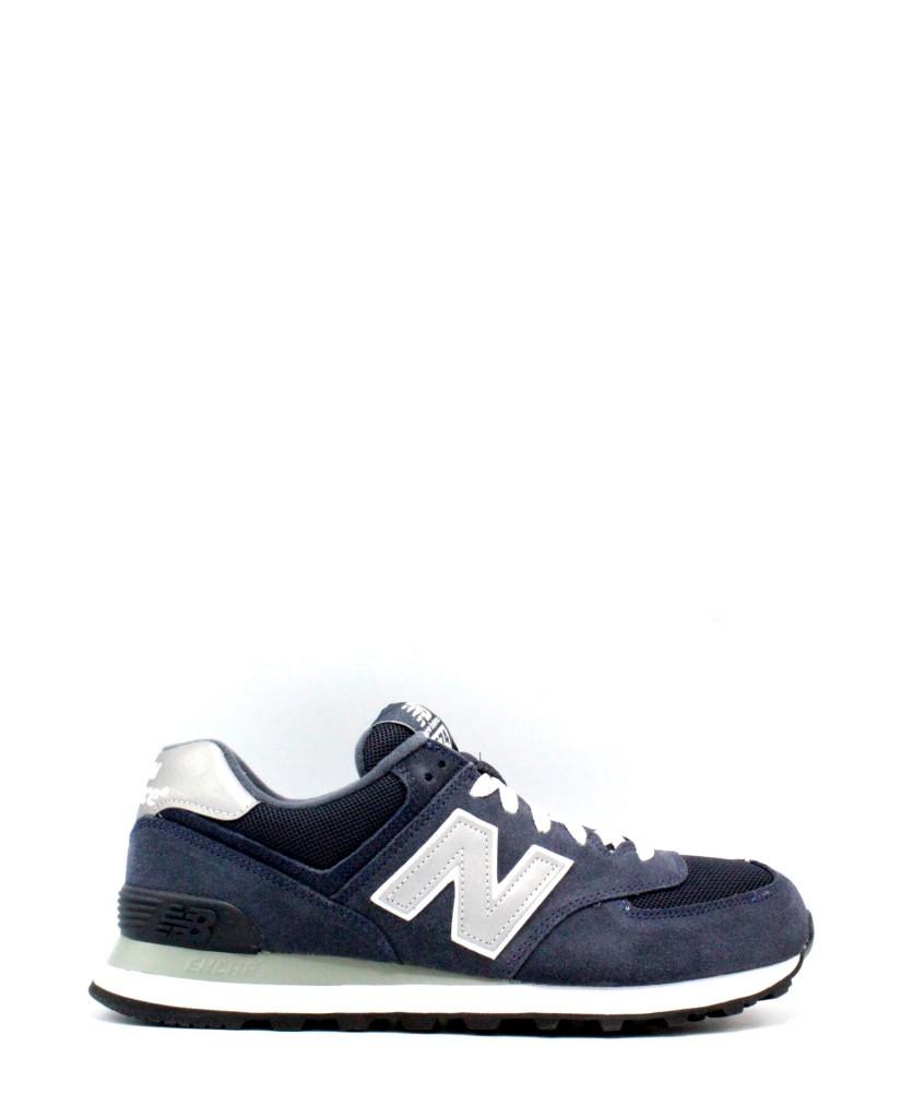 new balance 574 uomo blu 46